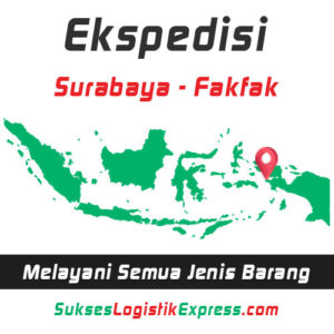 ekspedisi surabaya fakfak - papua