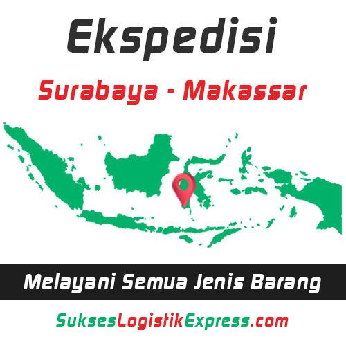 ekspedisi surabaya makassar - sulawesi