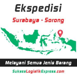 ekspedisi surabaya sorong - papua